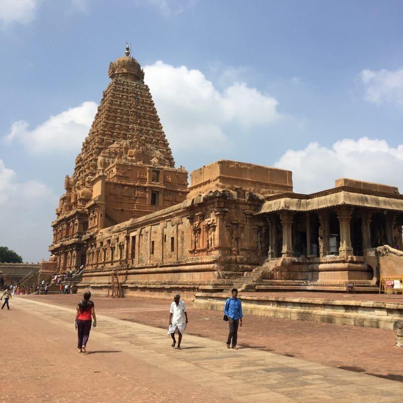 Tanjore et le big temple