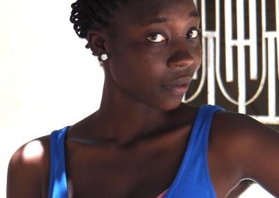 Lycéenne sénégalaise à Thies