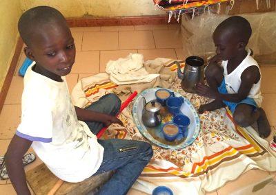 Petit déjeuner africain