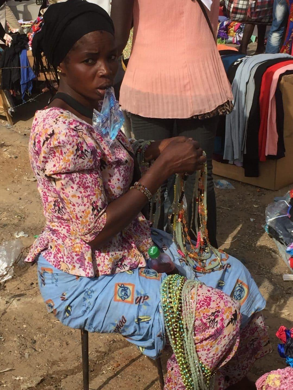 au marché HLM de dakar