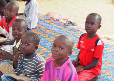 enfants à Ngore