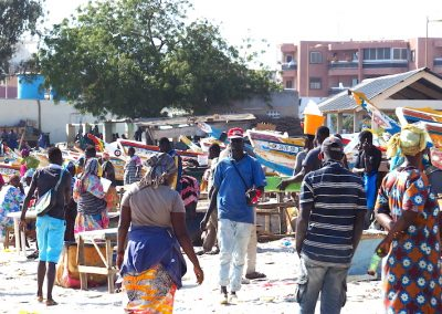 marché aux poissons de Soumbedioum