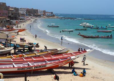 plage de Ngor près de Dakar