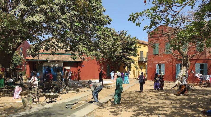 Gorée place centrale