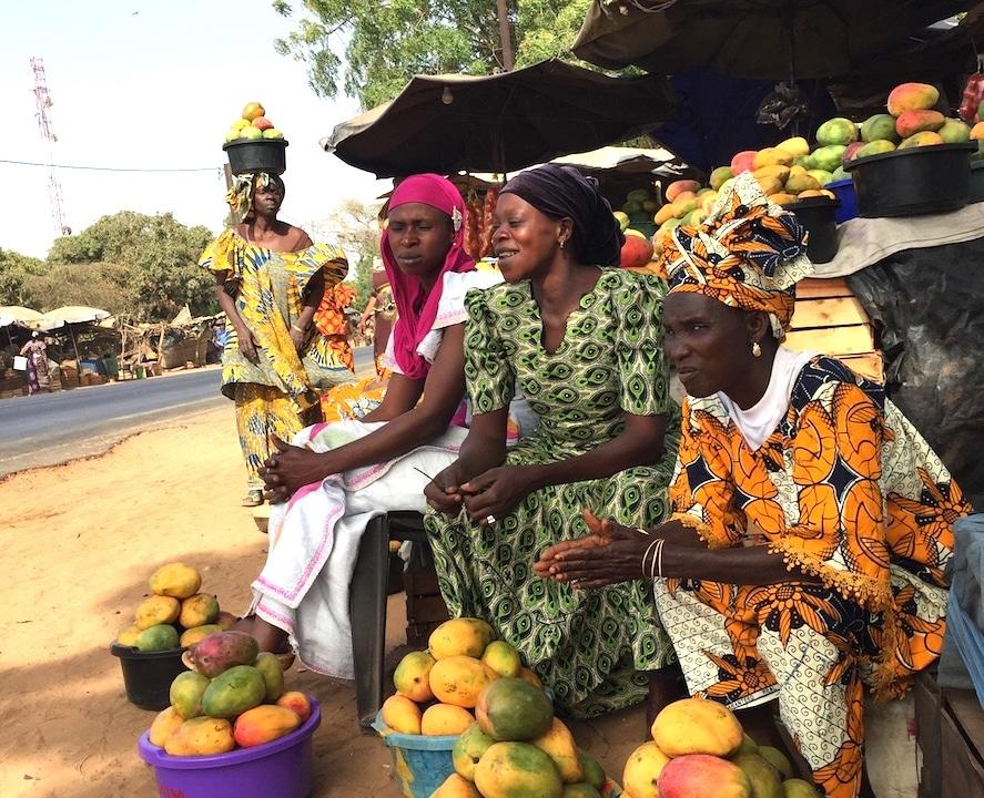 vendeuse de mangues