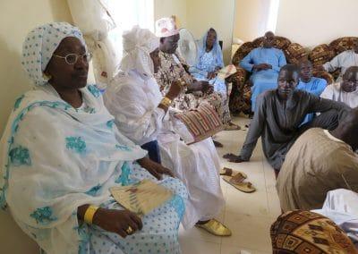 Conseil de famille à Ndande
