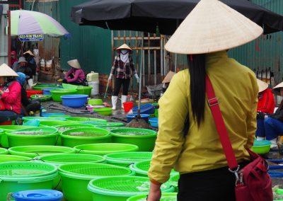 au marché de Hon Gai