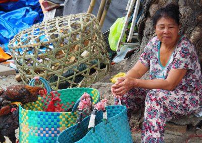 au marché de Cholon à Hô Chi Minh