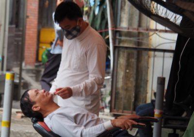 le barbier de Hon Gai