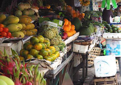 scènes de marché à Hô Chi Minh