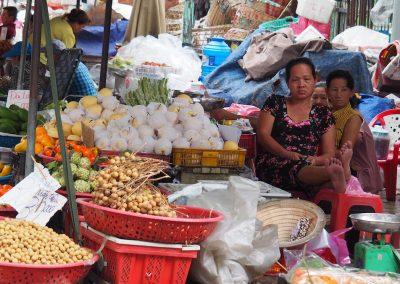 au marché de Bin Thay à Hô Chi Minh