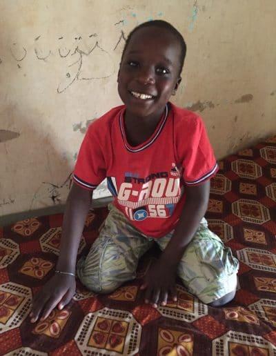 sourire d'enfant à Ndande