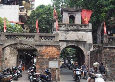 Entrée Est du centre historique de Hanoï