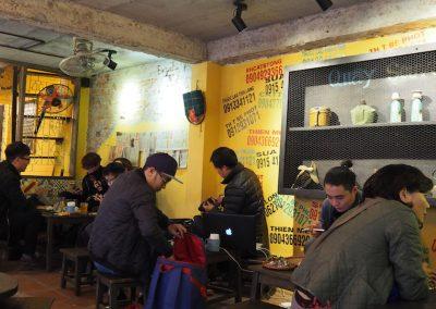 bar branché de Hanoï