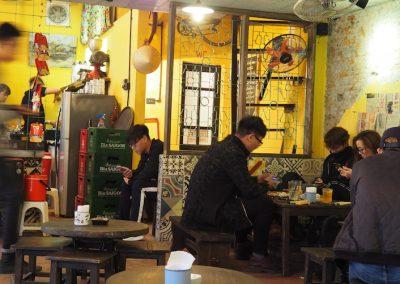 bar branché à Hanoï