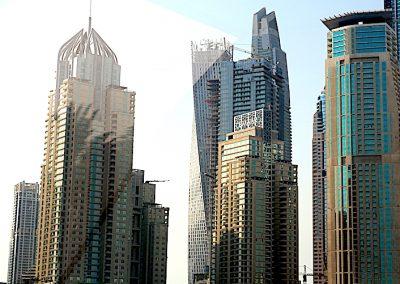 grattes-ciels à Dubaï