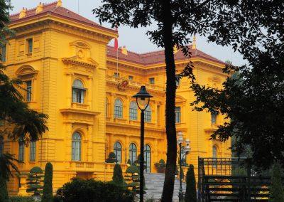 le palais présidentiel à Hanoï