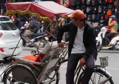 vélo taxi à Hanoï
