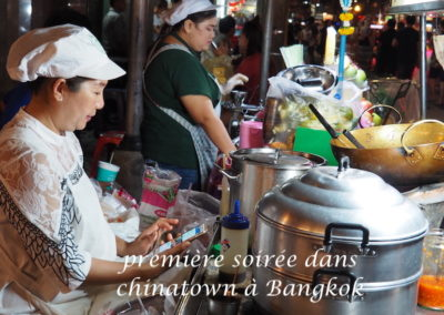 la marchande de repas à bangkok