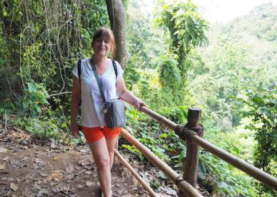Brigitte au Laos