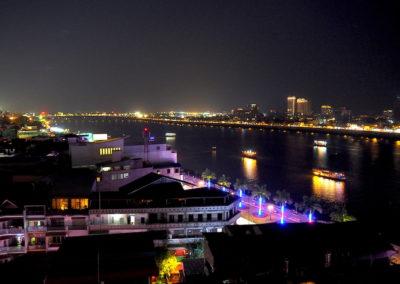 Phnom Pehn la nuit