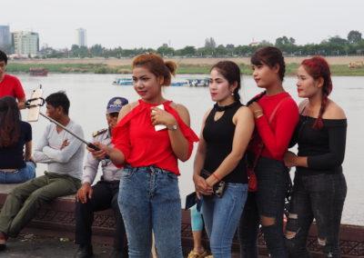 un dimanche photos à Phnom Pehn