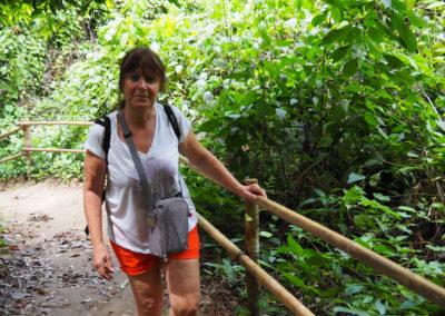 Dans la forêt de Kuang Si