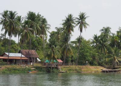 l'île de Done Khone au sud du laos