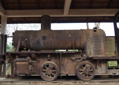 ancienne locomotive de Done Khone