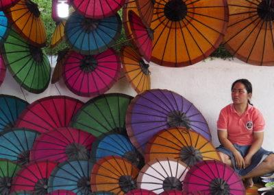 les ombrelles de Luang Prabang