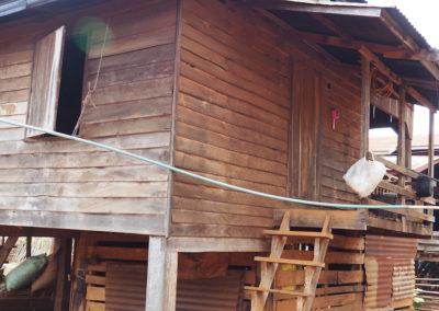 maison d'un village du plateau de Boloven