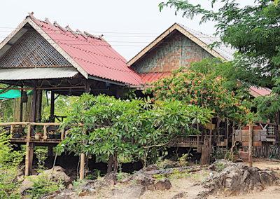 habitations à Done Khone