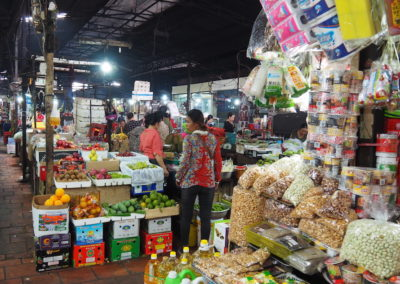 marché russe de Phnom Pehn
