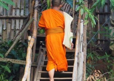 moine de Luang Prabang