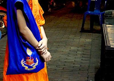 Jeune moine bouddhiste de Luang Prabang