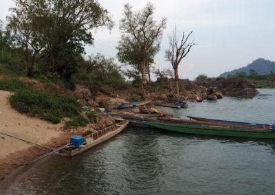 Le Mékong à la fronti!ère cambodgienne