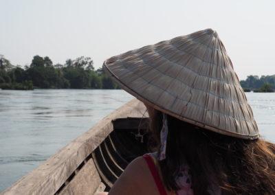 navigation sur le Mékong