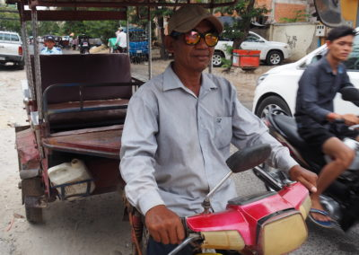 conducteur de Tuk Tuk Phnom Pehn