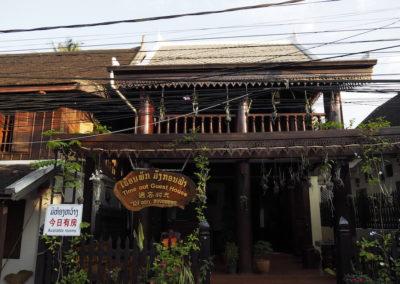 vieille maison de Luang Prabang