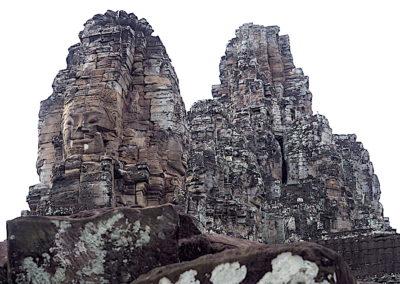 Bayon sur le site d'Angkor