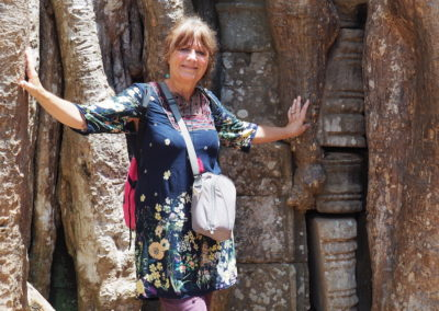 sur le site d'Angkor