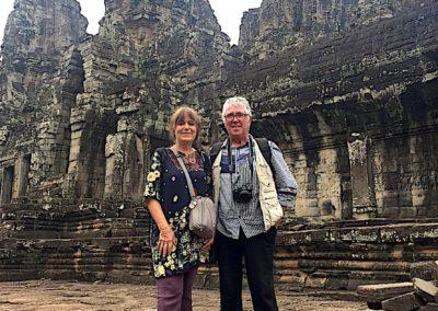 Sur le site d'Angkor Wat