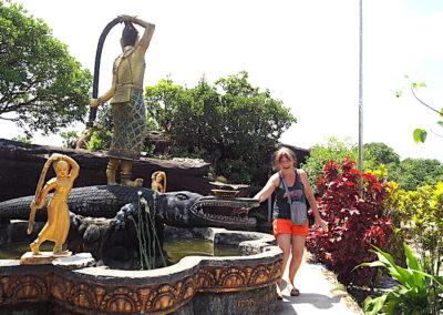 Brigitte sur le Bokor