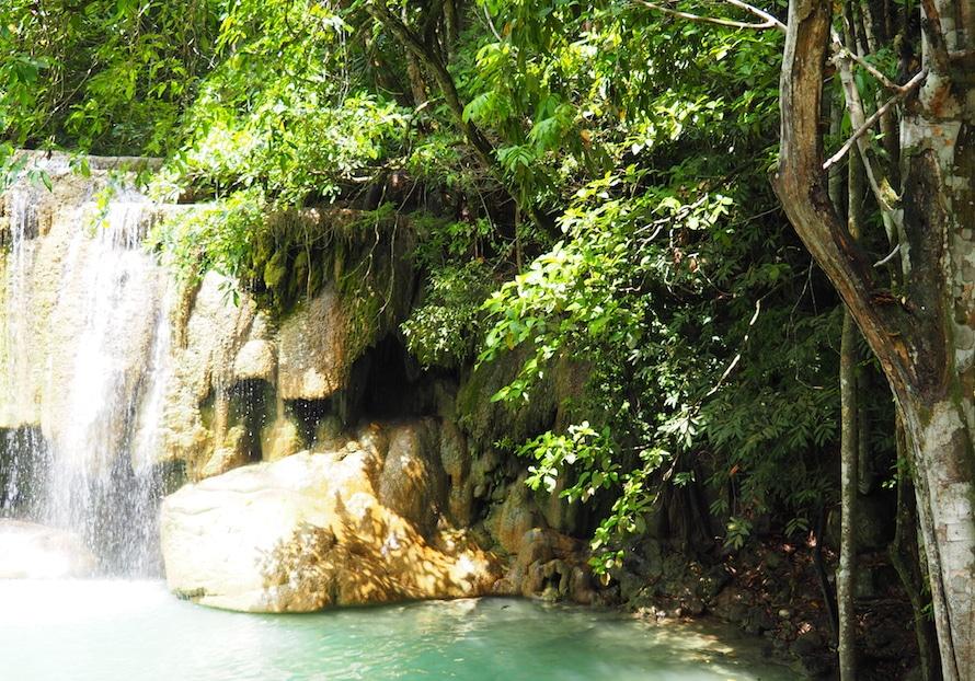 les cascades d'Erawan