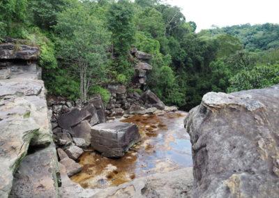 cascade sur le Bokor