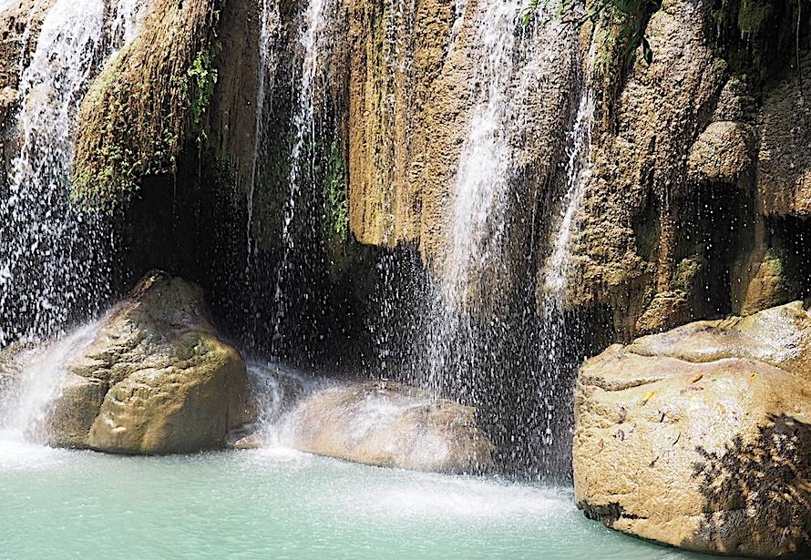 les chutes d'Erawan