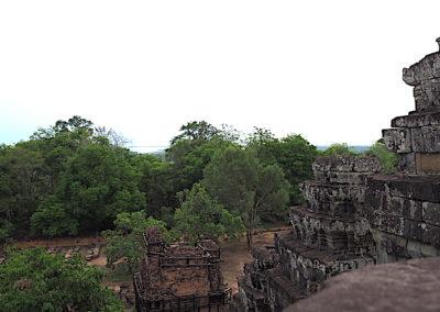 le Phnom Bakheng et ses environs