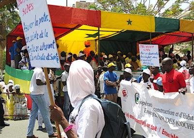 dédilé du 1er mai à Dakar