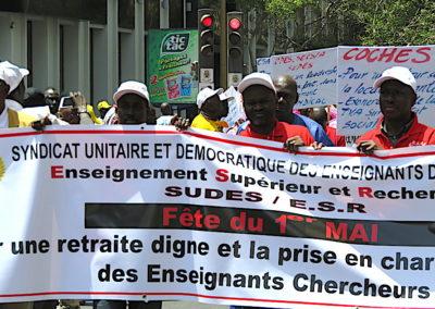 le 1er mai à Dakar