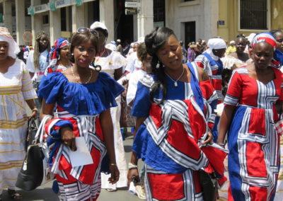 manifestantes du 1er mai à Dakar